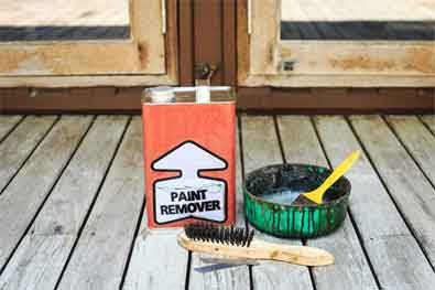 Common Process of Stripping paint from all types of wood