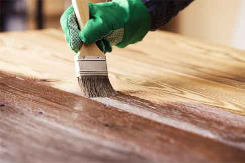 What are The Steps of Lightening Wood Stain