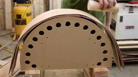 How to bend wood with Soak in water before bending