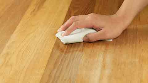 Clean the Wood of Both Pieces to be Glued