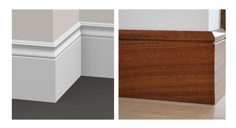 Differences Between MDF and Wood Baseboards