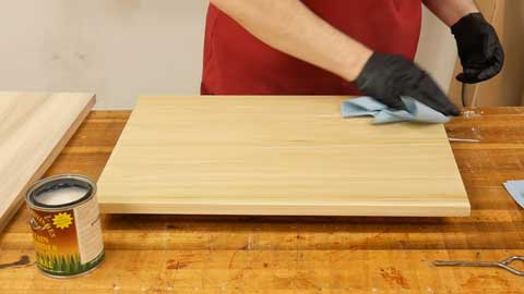 How do you Care for Stained Poplar Wood