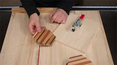 How to Cut a Hexagon Out of Wood