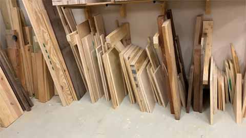Tips on How to Store Hardwood Plywood on Lumber Rack
