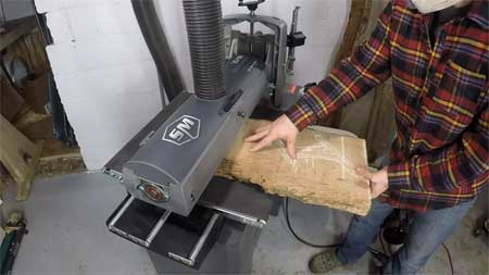 Why Use a Drum Sander in the Shop