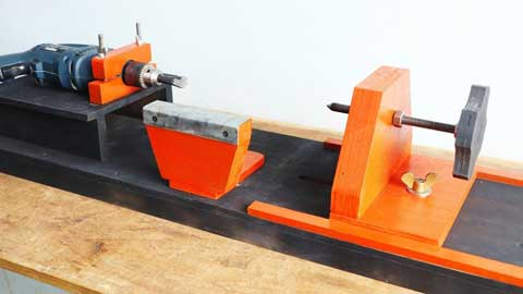 How to Make a Homemade Lathe - Step by Step Instructions