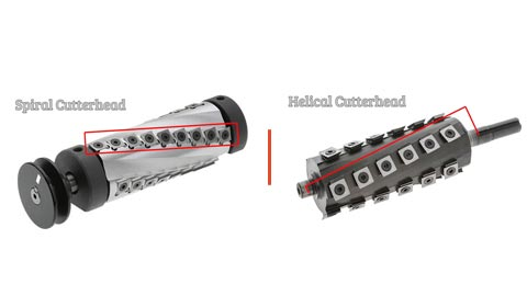 Let's Talk About Spiral vs Helical Cutterhead