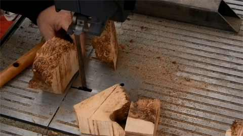 Safety Considerations When Cutting Burl Wood