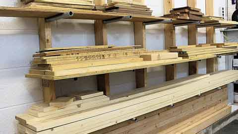 Steps On How to Store Lumber Outside