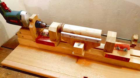 Tools for Building a Woodworking Lathe