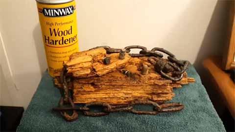 Using Wood Hardener