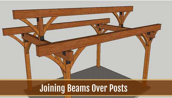 joining beams over posts
