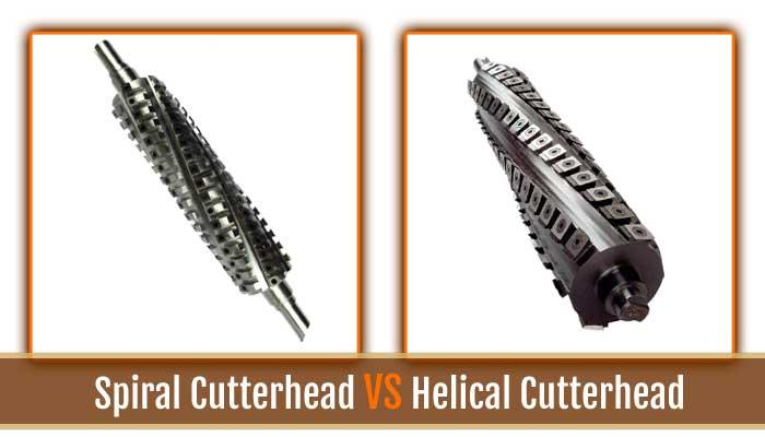 spiral vs helical cutterhead