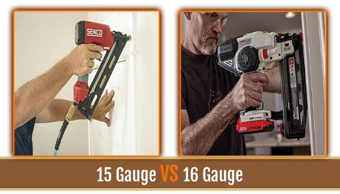 15 Gauge VS 16 Gauge
