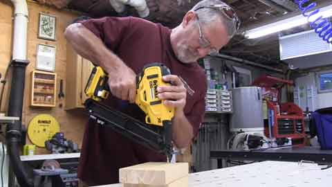 corded electric finish nailers
