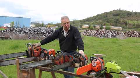 Different Uses of Chainsaws