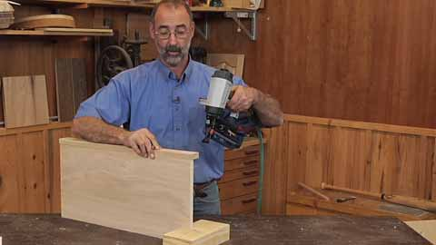 penetrate thick plywood