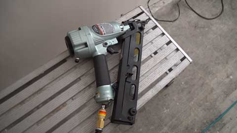corded electric finish nailer
