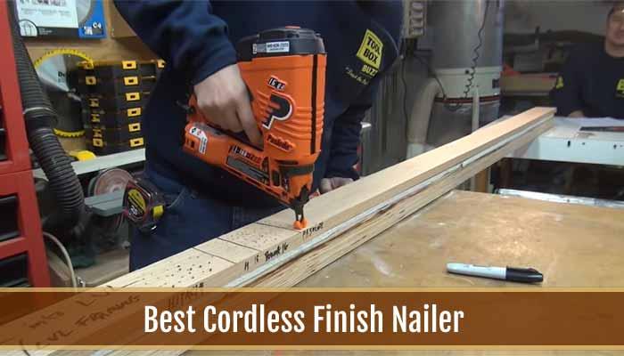 best cordless nail gun